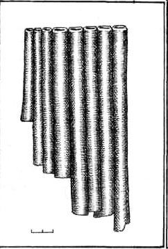 Власовский могильник. Флейта пана.